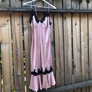 Pink silk Victoria's Secret nightie